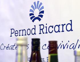 Чистая прибыль Pernod Ricard в 1-м финполугодии выросла более чем на четверть
